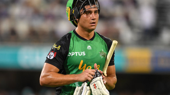 Stoinis a hunted man in Big Bash League final