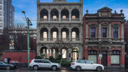 Victorian glory on city-fringe Brunswick Street