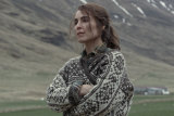 It's a determined performance from Noomi Rapace, who had to learn Icelandic to take on this role.