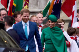 Prince Harry and Meghan, in their last official appearance as senior royals, attend the Commonwealth Day Service at Westminster Abbey on March 09.