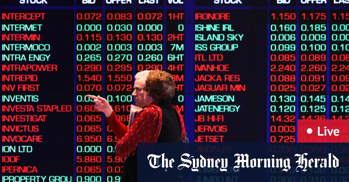 ASX jumps on energy stocks, iron ore price stable - The Sydney Morning Herald