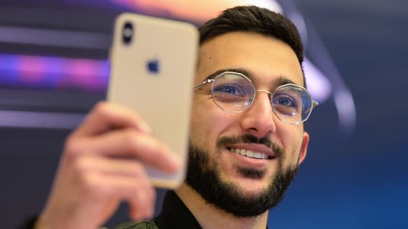 Sydney man first in line for new iPhone for the third time