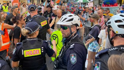 Police use new powers against climate activists just once in a year