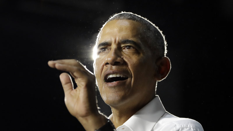Barack Obama speaks out on unrest, urges voters to focus on local races
