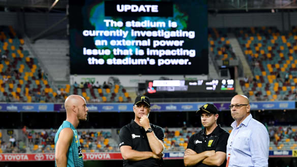 Thunder boss demands two competition points after Gabba farce