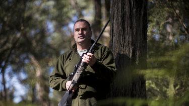 Australian Deer Association executive officer Barry Howlett.