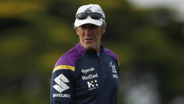 Storm coach Craig Bellamy has come under fire the past week over the club's wrestling tactics.