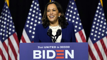 Democratic vice-presidential candidate Kamala Harris was born in California to immigrant parents.