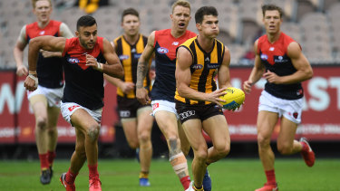 Jaeger O'Meara's improvement continued for the Hawks.