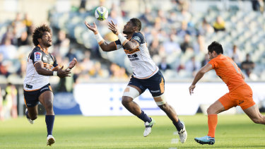 The Brumbies are beating themselves this year.