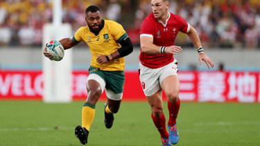 Samu Kerevi is playing in Japan.