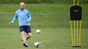 Thanks but no thanks: Jop van der Linden has been released by Sydney FC.