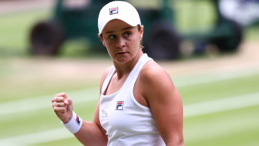 Ashleigh Barty is on the cusp of Wimbledon glory.
