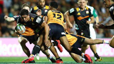 The Brumbies' 26-14 away win over the Chiefs in Hamilton was a highlight of the aborted 2020 season.