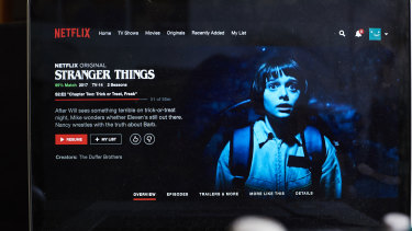 """Netflix could capitalise on streaming hits such as """"Stranger Things"""" to offer games that people recognise."""