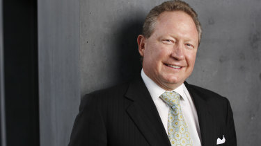 Andrew Forrest found evidence of slavery in Fortescue Metals' supply chain.