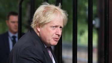 Blond ambition: Former Foreign Secretary Boris Johnson.