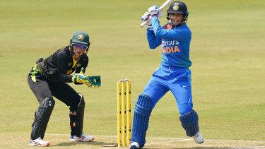 Smriti Mandhana hits out at the Junction Oval.
