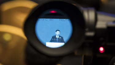 Chinese president Xi Jinping in the spotlight at the Boao economic forum this week.