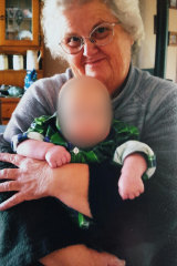 Beverly Quinn with one of her other grandchildren.