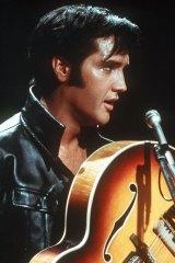 "Elvis Presley sang the lyrics, ""a little less conservation, a little more action""."