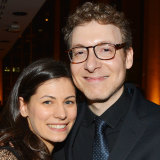 Nicholas Britell with his wife, cellist Caitlin Sullivan.