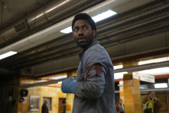 Playing with trust: the son of Denzel Washington stars in Beckett.