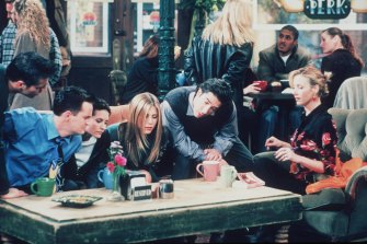 The characters on TV sitcom Friends drew laughs through their secrets and self-deception.