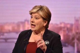 Senior Labour figure Emily Thornberry.