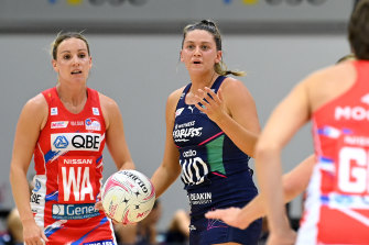 Kate Eddy missed the Vixens' win on Saturday.