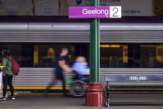 The Morrison government has committed $2 billion towards fast rail between Melbourne and Geelong.