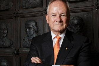 Sydney Cricket and Sports Ground Trust chairman Tony Shepherd.