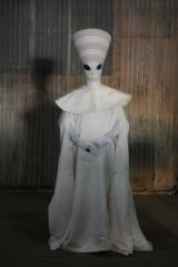 Queensland artist Luke Roberts has an extraterrestrial alter-ego, Pope Alice.
