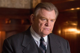 Tapped to play President Donald Trump: Brendan Gleeson.
