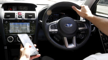 There are new penalties for using a mobile phone while driving.