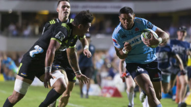 Code call: Brookvale hosts the Waratahs and Hurricanes in Super Rugby on Saturday night.