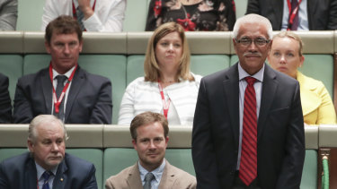 Former Kiribati president Anote Tong, who attended Question Time on Wednesday, is in Australia to talk about the impacts of climate change on the Pacific.