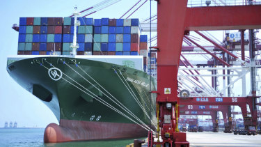 The US and China implemented tariffs on $34 billion worth of each others' goods in July.