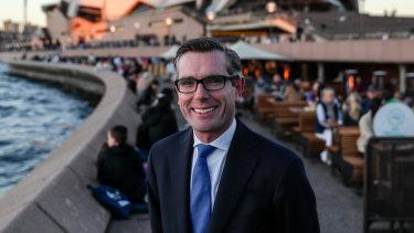 Treasurer Dominic Perrottet.