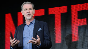 Reed Hastings, chief executive of Netflix.
