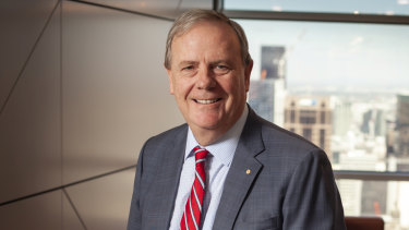 Future Fund chairman Peter Costello.