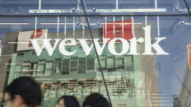 WeWork, the most prominent global coworking company, is getting more of its business from businesses.