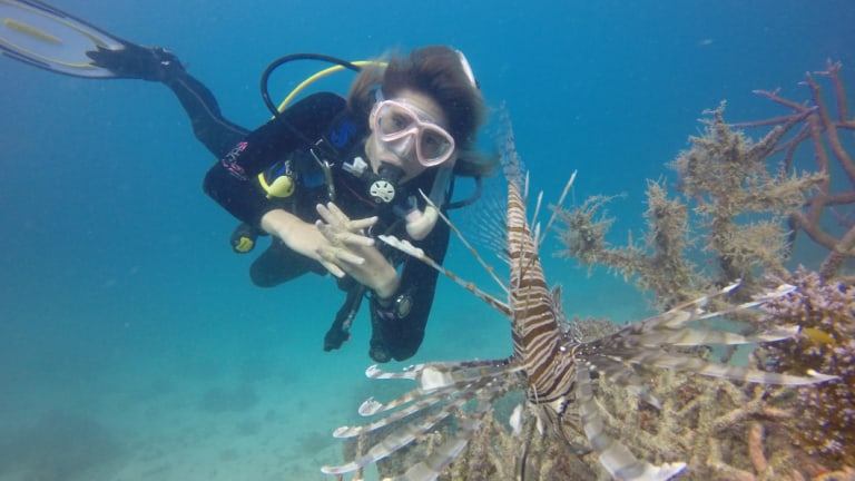 Tanya Murphy, a diving instructor and member of the Divers for Reef Conservation group, says it's not too late to act.