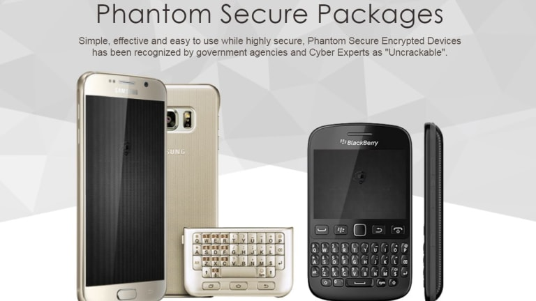 "Phantom Secure offered modified Blackberry and Android devices they said were ""uncrackable""."