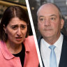 Gladys Berejiklian agreed to meet with two publicans with criminal histories after another minister rejected Daryl Maguire's 'insistent' requests.