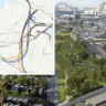 The complex spaghetti junction deep beneath Sydney's inner west revealed