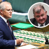 Scott Morrison rebukes Craig Kelly in Parliament, but no sanctions