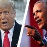 Obama's brutal slaps down of Trump