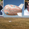 Battle to bring back controversial Uluru blimp flies into court