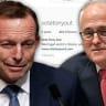 Abbott addresses Turnbull's 'Vote Tony Out' group follow